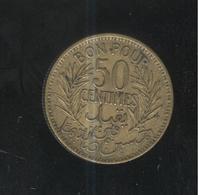 50 Centimes Tunisie 1941 - Tunisia