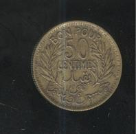 50 Centimes Tunisie 1945 - Tunisia