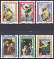 Vatikan Vatican 1976 Religion Christentum Kunst Arts Kultur Culture Gemälde Paintings Raffael Verklärung, Mi. 683-8 ** - Vatikan