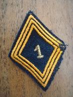Losange De Bras Parachutiste - 1er RCP - Sous / Off - Algérie - AFN. - Militari