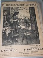 """Partition De """"C'est Un Soiseau Qui Vient De France"""" - Scores & Partitions"""