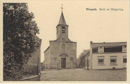 Wanzele   -   Kerk En Omgeving - Lede