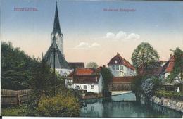 CP Allemagne - Hoyerswerda - Kirche Mit Elsterpartie - Hoyerswerda