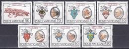 Vatikan Vatican 1979 Religion Christentum Geschichte History Pesönlichkeiten Papst Päpste Popes Wappen, Mi. 748-4 ** - Vatikan