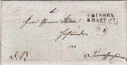 Brief Von Usingen/Ts., Aus Dem Jahr 1847 - Historical Documents