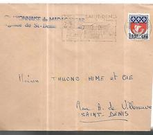Réunion  Lettre De La Lyonnaise De Madagascar ( Agence De Saint Denis   ) Le 11 06 1965 - Reunion Island (1852-1975)