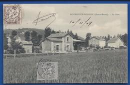 ROCHES-SUR-ROGNON        La Gare    écrite En 1904 - Autres Communes