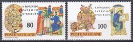 Vatikan Vatican 1980 Religion Christentum Persönlichkeiten Heilige Benedikt Von Nursia Kodex Codices, Aus Mi. 759-3 ** - Vatikan