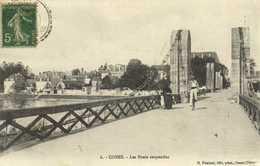 COSNE  Les Ponts Suspendus Cycliste RV - Cosne Cours Sur Loire