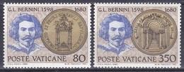 Vatikan Vatican 1980 Persönlichkeiten Kunst Arts Kultur Culture Bildhauer Maler Bernini Petersdom, Aus Mi. 771-4 ** - Vatikan