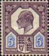 USED STAMPS Great-Britain - King Edward VII  -1902 - Used Stamps