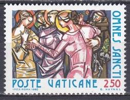 Vatikan Vatican 1980 Religion Christentum Feiertage Allerheiligen All Hallows Kunst Arts Kultur Culture, Mi. 775 ** - Vatican