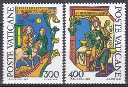 Vatikan Vatican 1980 Religion Christentum Persönlichkeiten Heilige Kirchenlehrer Albertus Magnus Kunst, Mi. 777-8 ** - Vatikan