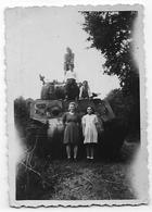 LIBERATION Septembre 1944 : Char Avec Civils - Guerre, Militaire