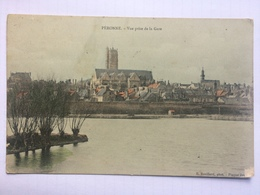 PERONNE - Vue Prise De La Gare - E. Souillard - 1904 - Peronne