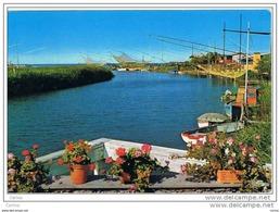 LIDO  DI  SAVIO - LIDO  DI  CLASSE (FO):   CAPANNI  DA  PESCA  -  PER  LA  SVIZZERA  -  FG - Pesca