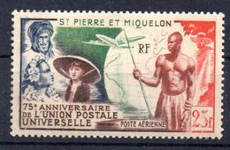 Sello Nº A-21 Saint Pierre Et Miquelon - Nuevos