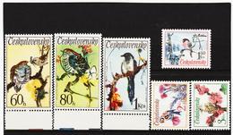 Post169 TSCHECHOSLOWAKEI CSSR 1972 MICHL 2110/15 ** Postfrisch SIEHE ABBILDUNG - Tschechoslowakei/CSSR