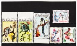 Post170 TSCHECHOSLOWAKEI CSSR 1972 MICHL 2110/15 ** Postfrisch SIEHE ABBILDUNG - Tschechoslowakei/CSSR