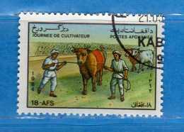(Us.3) AFGHANISTAN °-1984 - Journée Du Coltivateur. Yvert. 1155 . Oblitéré.  Vedi Descrizione - Afghanistan