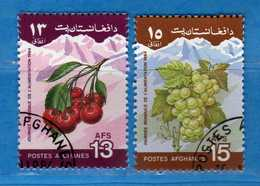 (Us.3) AFGHANISTAN °-1984 - ALIMENTATION. Yvert. 1202--1203 . Oblitéré.  Vedi Descrizione - Afghanistan