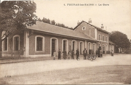 Cpa Fouras La Gare - Fouras-les-Bains