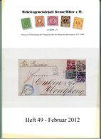 ArGe Krone / Adler Rundbrief 49 Aus 2012 - U. A. Entwicklung Des Auslandsbriefverkehrs: China - Riviste
