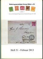 ArGe Krone / Adler Rundbrief 51 Aus 2013 - U. A. Entwicklung Des Auslandsbriefverkehrs: Chile - Riviste