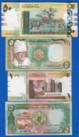 Soudan  50  Pounds  +  3  Billets - Sudan