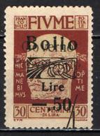 Italia - Fiume - Marca Da Bollo - 8. WW I Occupation