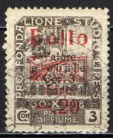Italia - Fiume - Marca Da Bollo - Fiume