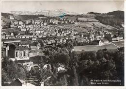 SVIZZERA-ST.GALLEN PANORAMA-1954 - SG St. Gallen