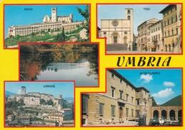 TERNI SALUTI VEDUTE  VIAGGIATA - Italie