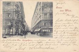 Wien 1: Spiegelgasse 1904 !!! - Vienna