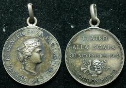BELGIO / ITALIA - TEATRO ALLA SCALA  - SERATA PRO PROFUGHI BELGI 1914 (4/25) - Altri