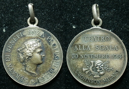 BELGIO / ITALIA - TEATRO ALLA SCALA  - SERATA PRO PROFUGHI BELGI 1914 (4/25) - Italien
