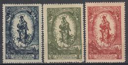 LIECHTENSTEIN - Michel - 1920 - Nr 40/42 (MOOI) - MH* - Liechtenstein