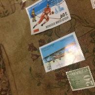 CAMBOGIA EROI DELL' ARIA - Stamps