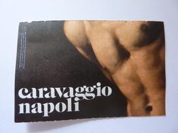 """Biglietto Ingresso """"MOSTRA CARAVAGGIO  NAPOLI"""" Museo Nazionale Di Capodimonte 2019 - Toegangskaarten"""