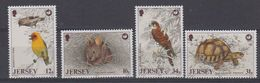 Jersey 1988 Nature Protection / Animals 4v ** Mnh (42710) - Jersey
