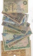 LOT OF 9 DIFFERENT NOTES. - Banknotes
