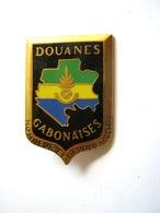 RARE ANCIEN INSIGNE EMAILLE DES DOUANES GABONAISE ETAT EXCELLENT DRAGO PARIS - Polizia