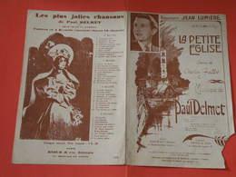 La Petite église (Poésie)-(Paroles Charles Fallot) (Musique Paul Delmet) Partition - Musique & Instruments