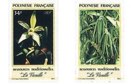 Ref. 94319 * MNH * - FRENCH POLYNESIA. 1990. LA VAINILLA - Vegetales