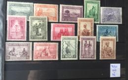 Ruanda Urundi - 92/106 - Indigènes, Animaux & Paysages - 1931 - MNH & MH - Ruanda-Urundi