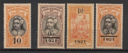 Océanie - 1916-21 - N°Yv. 43 à 46 - Complet - 4 Valeurs - Neuf Luxe ** / MNH / Postfrisch - Océanie (Établissement De L') (1892-1958)