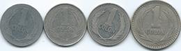 El Salvador - 1 Colón - 1984 (KM153) 1988 (KM156) 1991 (KM156a) 1993 (KM156b) - El Salvador