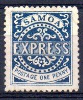 Sello Nº 1  Samoa - Samoa