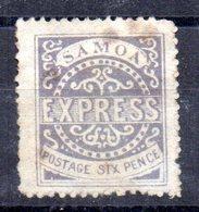 Sello Nº 3  Samoa - Samoa