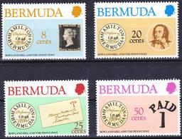 Bermuda 1980 Complete Set Rowland Hill Centenary Mi 378-381 MNH ** - Bermuda